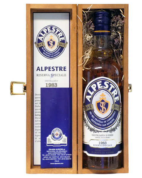 Alpestre 30 years, Special Reserve 1983 - 0,7 lt