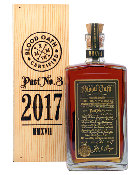 Blood Oath Pact No.3, Small Batch Bourbon - 0,75 lt