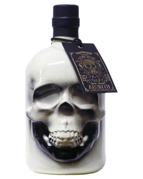Absinth Suicide Super Strong 79,9% - Skull - 0,5 lt
