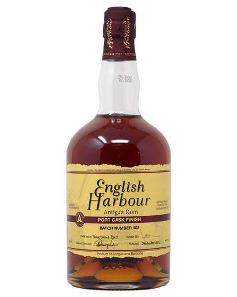 English Harbour Rum Port Cask Finish - 0,7 lt