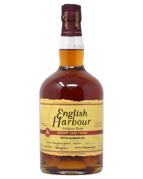 English Harbour Rum Sherry Cask Finish - 0,7 lt