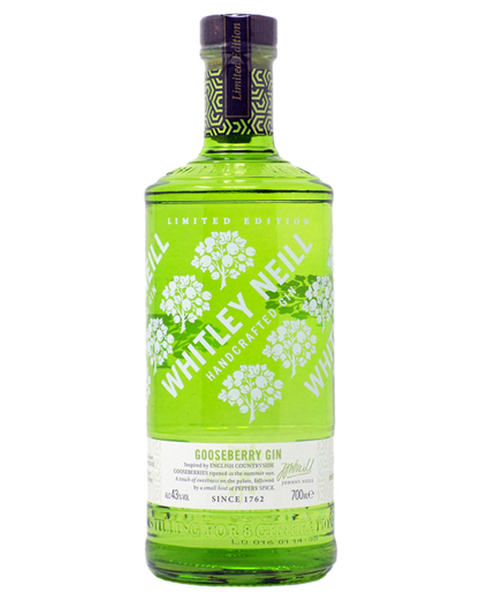 Whitley Neill Gooseberry Gin ltd. Edition - 0,7 lt