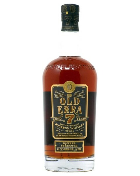Ezra Brooks Old Ezra 7 years Bourbon Barrel Strength - 0,75 lt