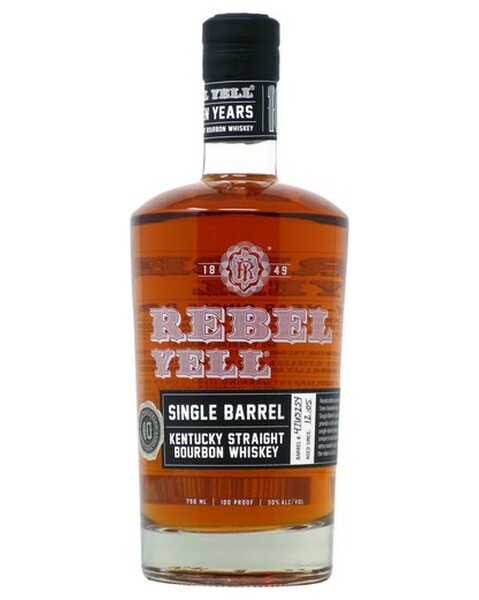 Rebel Yell Single Barrel Bourbon 10 years - 0,75 lt