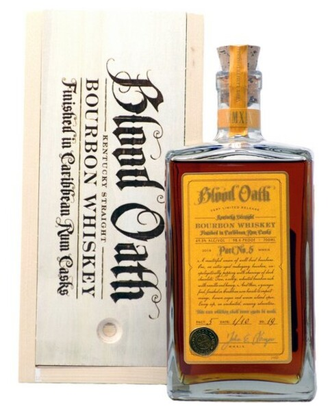 Blood Oath Pact No.5, Small Batch Bourbon - 0,7 lt