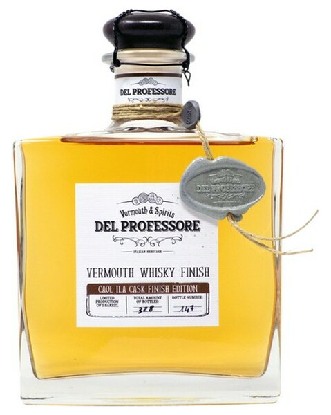 Del Professore Vermouth Whisky Finish - 0,5 lt