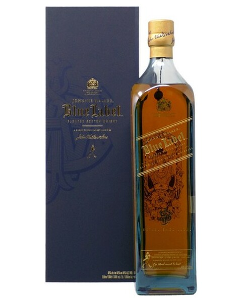 Johnnie Walker Blue Label Zodiac Collection Year Of The Ox (Ochse) - 1 lt