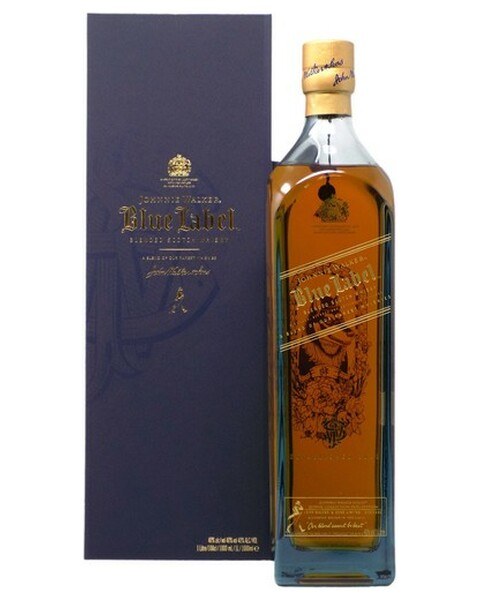 Johnnie Walker Blue Label Zodiac Collection Year Of The Dog (Hund) - 1 lt