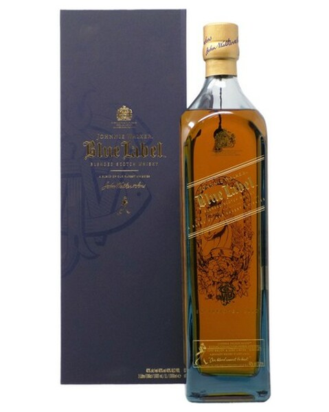 Johnnie Walker Blue Label Zodiac Collection Year Of The Horse (Pferd) - 1 lt