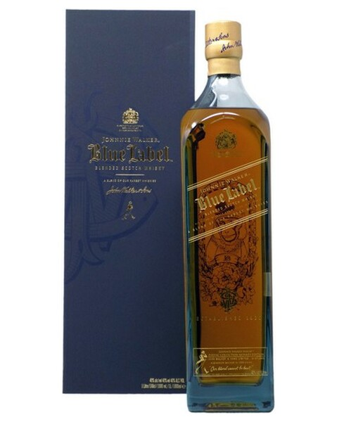 Johnnie Walker Blue Label Zodiac Collection Year Of The Monkey (Affe) - 1 lt