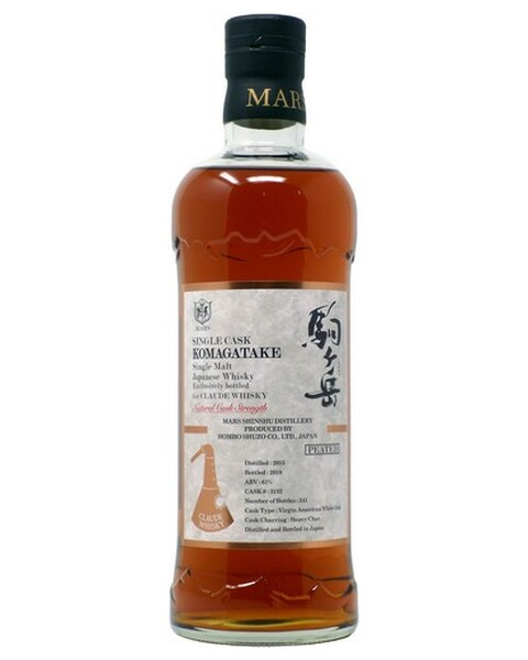Mars Komagatake Single Cask Claude Edition, Peated Cask # 3132 - 0,7 lt
