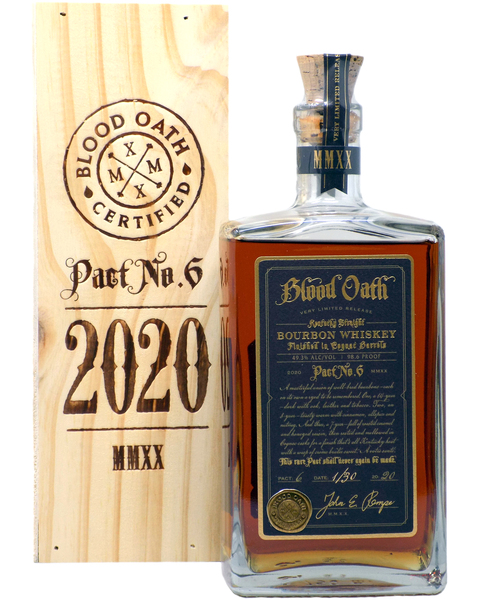 Blood Oath Pact No.6, Small Batch Bourbon - 0,7 lt