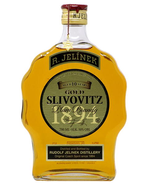 R. Jelínek Plum Brandy Gold 10 years KOSHER - 0,7 lt