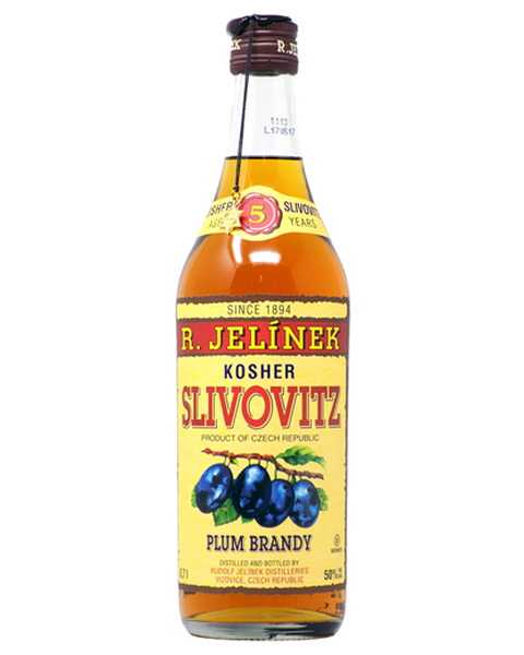 R. Jelínek Plum Brandy Gold  5 years KOSHER - 0,7 lt
