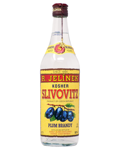 R. Jelínek Plum Brandy 5 years KOSHER - 0,7 lt