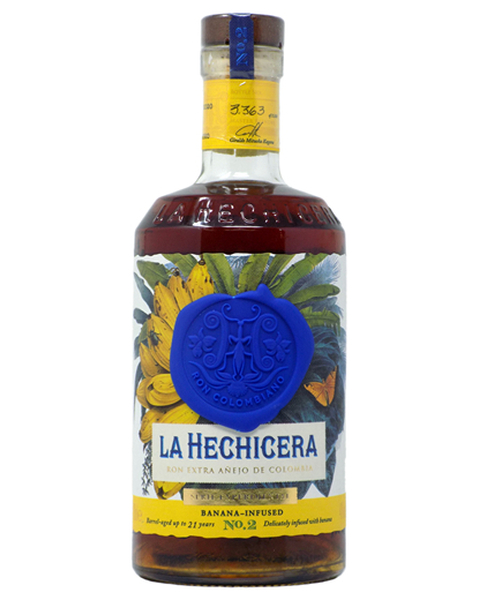 La Hechicera Rum Serie Experimental No.2, Banana Infused, 12-21 years - 0,7 lt