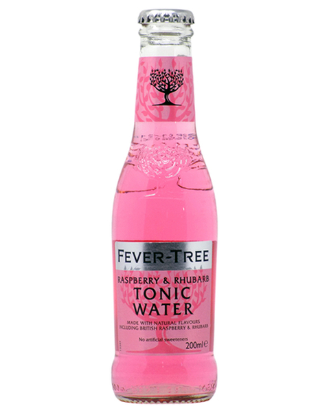 Fevertree  Tonic Raspberry & Rhubarb - 0,2 lt