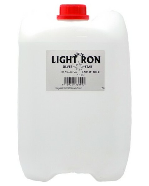 KANISTER-Light Ron 'Silver Star' - 10 lt