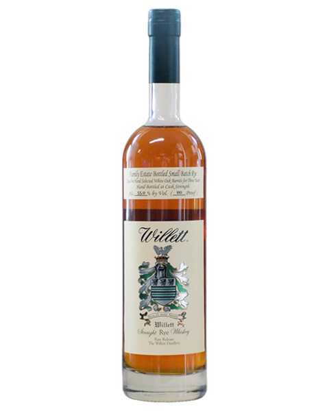 Willett Family Estate 3 years old Small Batch Straight Rye - 0,75 lt