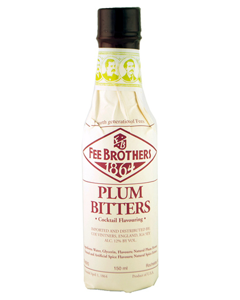 Fee Brothers Plum Bitters - 0,15 lt