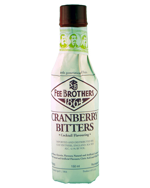 Fee Brothers Cranberry Bitters - 0,15 lt