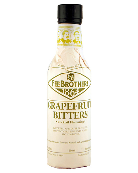 Fee Brothers Grapefruit Bitters - 0,15 lt