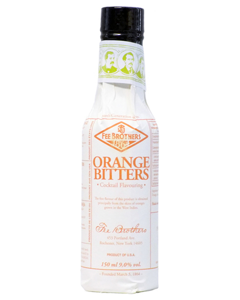 Fee Brothers Orange Bitters (West Indian) - 0,15 lt