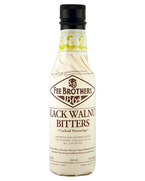 Fee Brothers Black Walnut Bitters - 0,15 lt