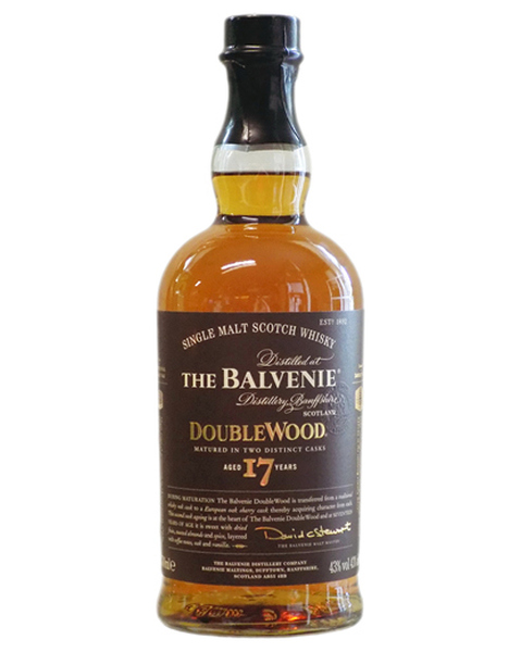Balvenie 17 years Double Wood - 0,7 lt