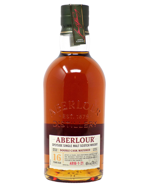 Aberlour 16 years, Double Cask - 0,7 lt