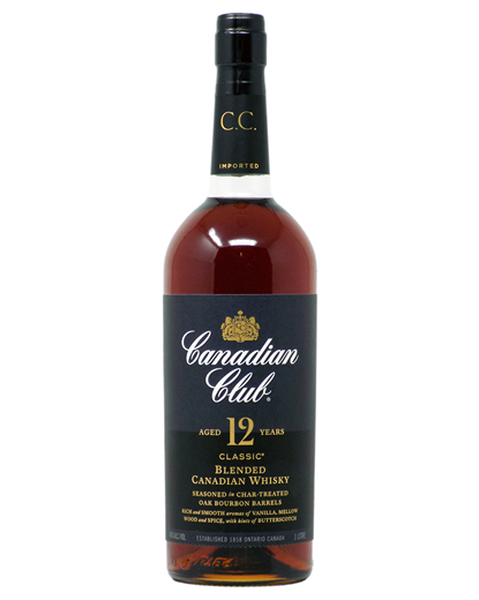 Canadian Club Classic 12 years   (1,0 lt-Flasche) - 1 lt