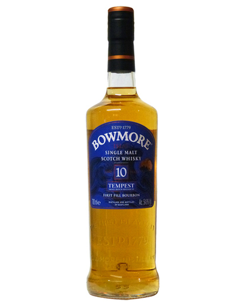 Bowmore 10 years, Tempest Batch 6 - 0,7 lt
