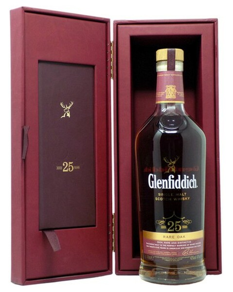 Glenfiddich 25 years, Rare Oak - 0,7 lt