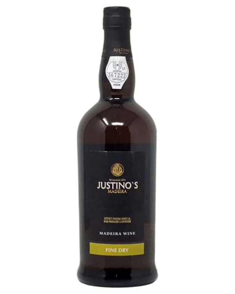 Madeira East India Fine Dry 3 years, Justino's - 0,75 lt