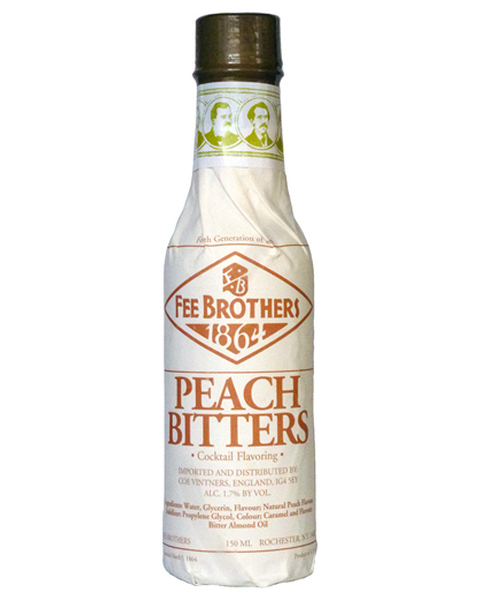 Fee Brothers Peach Bitters - 0,15 lt