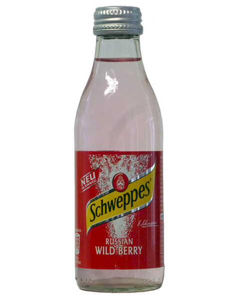 Schweppes  Wildberry - 0,2 lt