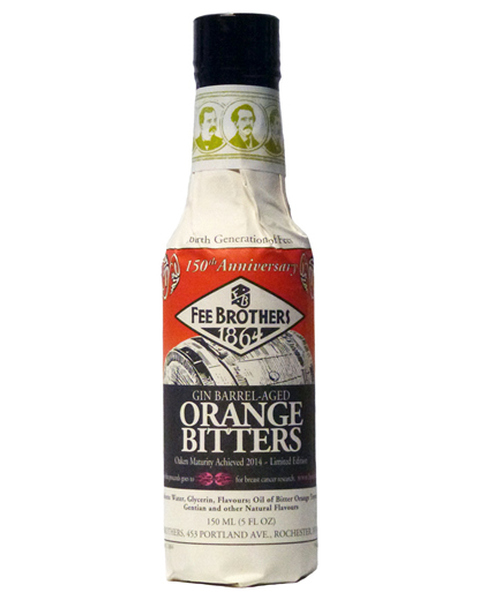 Fee Brothers Orange Bitters 'Gin Barrel Aged' - 0,15 lt